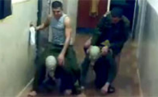 Hazing in the Russian military (Image: social media)