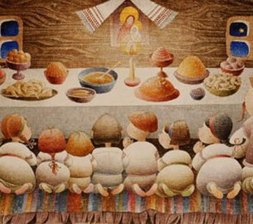 The traditional supper on Christmas Eve is the cornerstone of a Ukrainian Christmas