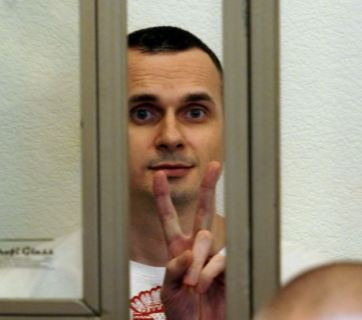 Imprisoned Ukainian filmmaker Oleg Sentsov is one of those the resolution calls to release. Photo: Anton Naumlyuk