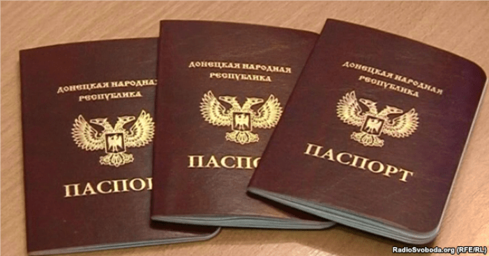 """DNR passports"" are now recognized by the Russian Federation"
