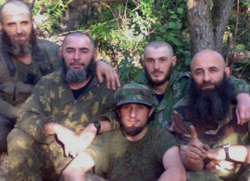 Some of Russia's North Caucasians fighting for ISIS (Image: kavkaz-uzel.eu)