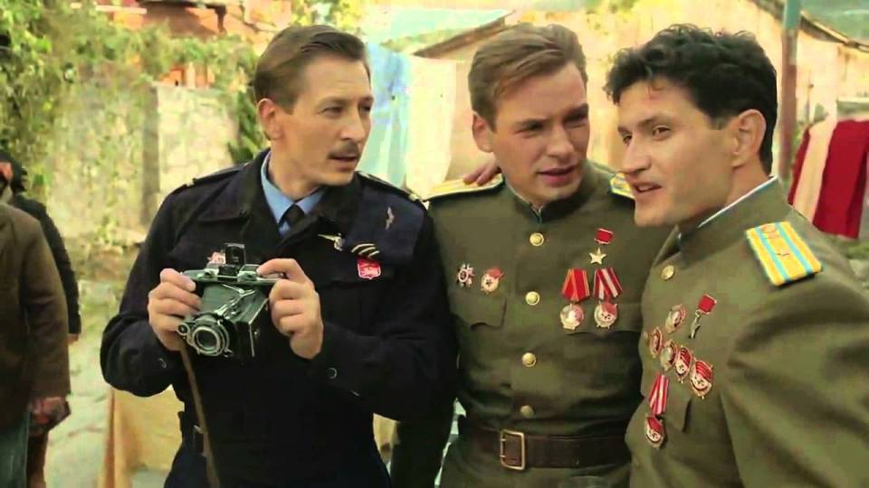 The film's director Akhtem Seitablaiev also played the main role of Khan, a pilot awarded Hero of the Soviet Union. Photo: snapshot from the film