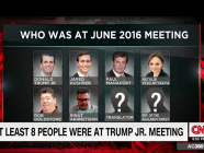 """Who Was At June 2016 Meeting"" — CNN screen grab (July 15)"