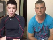 The two FSB officers detained in Ukraine Vladimir Kuznetsov  (left) and Askar Kulub (right). Source: Fb page of  Viktor Nazarenko, Head of  State Border Guard Service of Ukraine