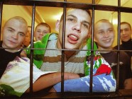 Teenage criminal prisoners in Russia (Image: bazaistoria.ru)