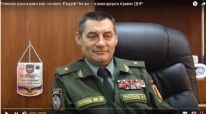 "DNR ""MP"" Mikhail Tikhonov. Screenshot: Youtube"