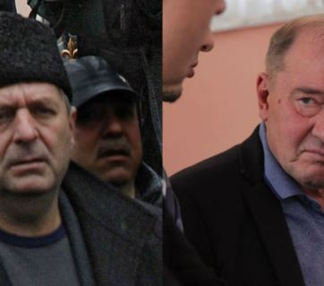 Akhtem Chiygoz (left) and Ilmi  Umerov (right). Photo: RFE/RL