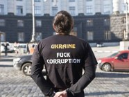In 2014, this anti-corruption T-Shirt campaign was launched in Ukraine. Photo: life.pravda.ua