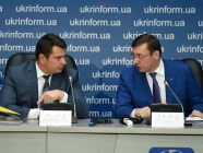 NABU head Artem Sytnyk (left) and Prosecutor General Yuriy Lutsenko. Photo: 112.ua