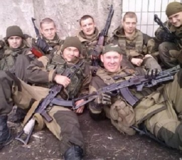 Wagner mercenaries, a Russian private military company operating in Syria