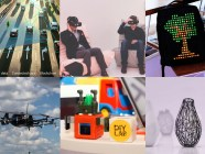 The startups featured in Las Vegas. Collage: Euromaidan Press