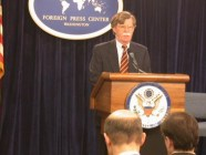 John R Bolton in 2002 as the Undersecretary of State for Arms Control and International Security (Image: US Department of State)