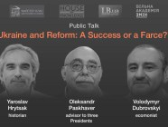 talk on reforms in Ukraine