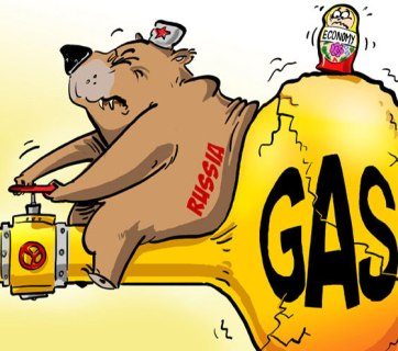 Russian gas blackmail