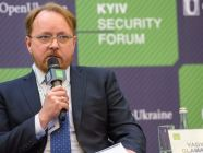 "Vadym Glamazdin, Special Envoy on government relations, NJSC ""Naftogaz of Ukraine"". Photo: twitter.com/FundOpenUkraine"