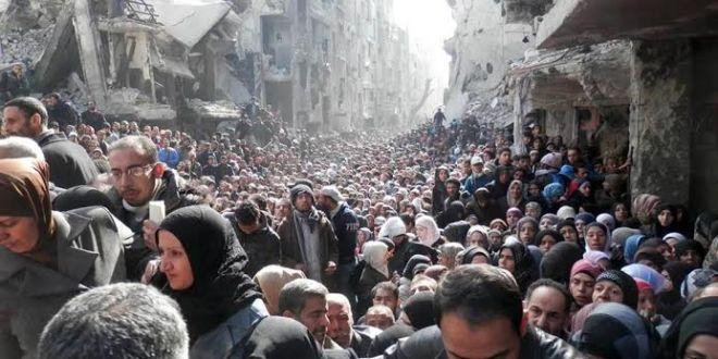 الوفاء الأوروبية تطالب بتجنيب المدنيين في مخيم اليرموك الاقتتال وتدعو إلى هدنة إنسانية