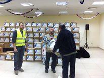 Photo of زيارة مركز رؤى وتوزيع مساعدات على نازحين ولاجئين في المخيمات