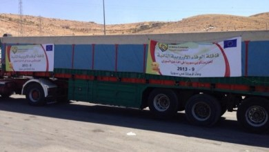 Photo of وصلت شاحنات حملة الوفاء الأوروبية إلى الحدود اللبنانية