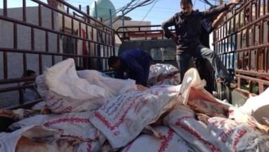 Photo of قامت حملة الوفاء الأوروبية اليوم بتوزيع لحم الأضاحي في عدة مناطق وهي مخيم خان دنون والكسوة 17-10