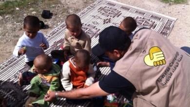 Photo of حملة الوفاء الاوروبية … مع اطفال اليرموك