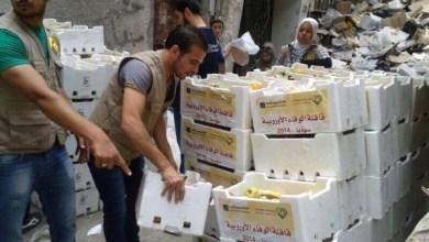 Photo of حملة الوفاء اﻷوروبية – مخيم اليرموك