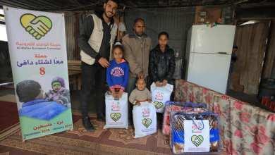 "Photo of حملة الوفاء الأوروبية تبدأحملة ""معا لشتاء دافئ 8"" من قطاع غزة"
