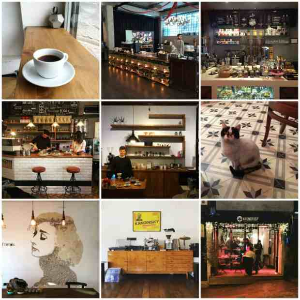 Istanbul Coffee Collage