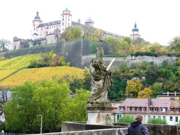Marienberg Fortress from the Main Bridge