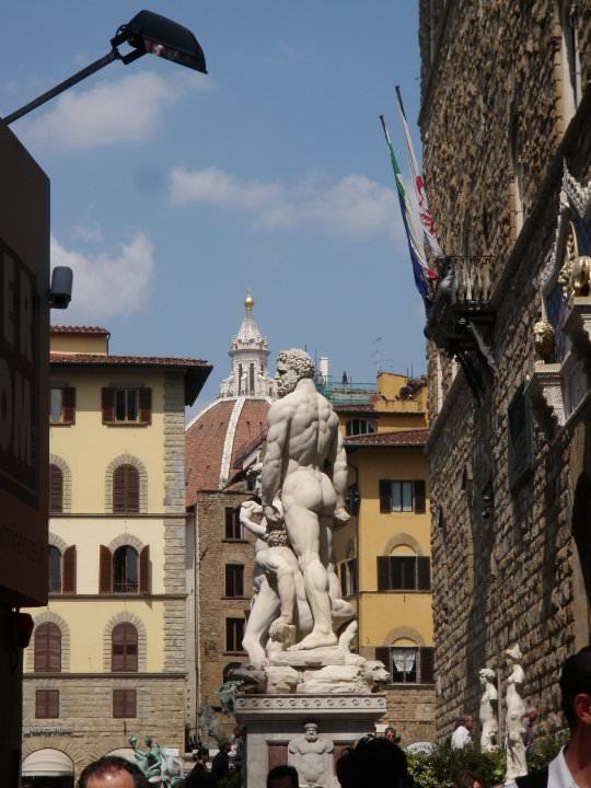 Replica of David in Florence