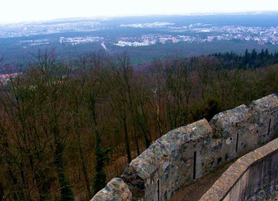 Frankenstein Castle Wall