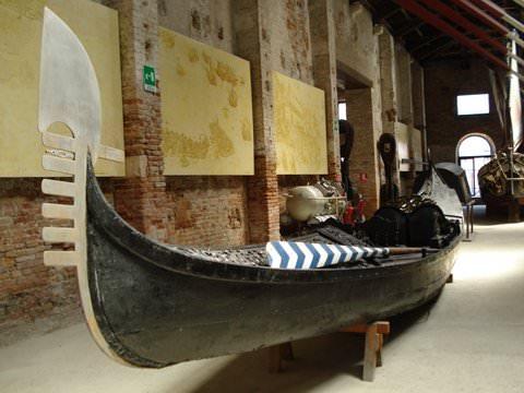 Gondola in the Venice Naval Museum