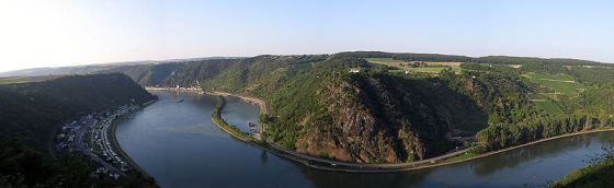Loreley Rock on the Rhine River