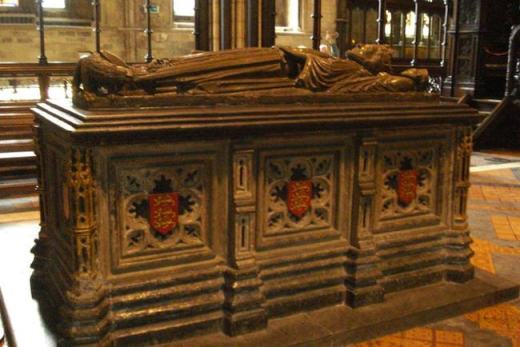 King John's Tomb - Worcester Cathedral