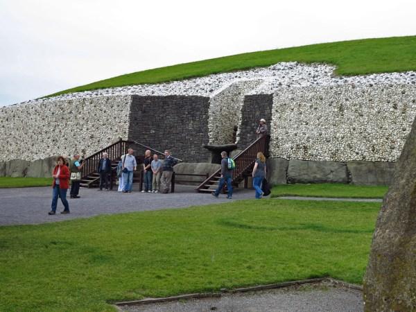White quartz brought by pilgrims
