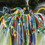 The Bertrand Lavier Fountain 2014  at the Serpentine Galleries