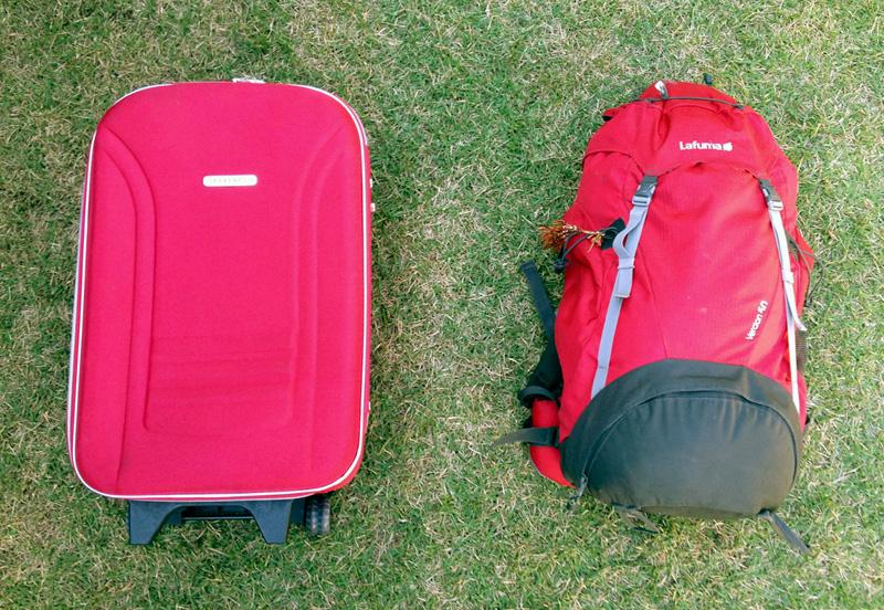 Mochila ou mala: qual é melhor pra viajar?