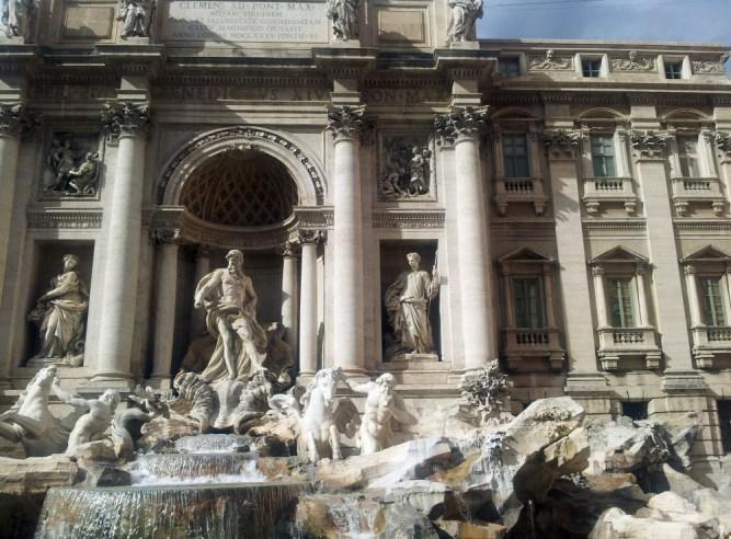 Texto 01 Blog MaxMilhas Perder-se em Roma Fontana di Trevi