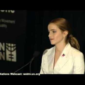 Discurso de Emma Watson na UN