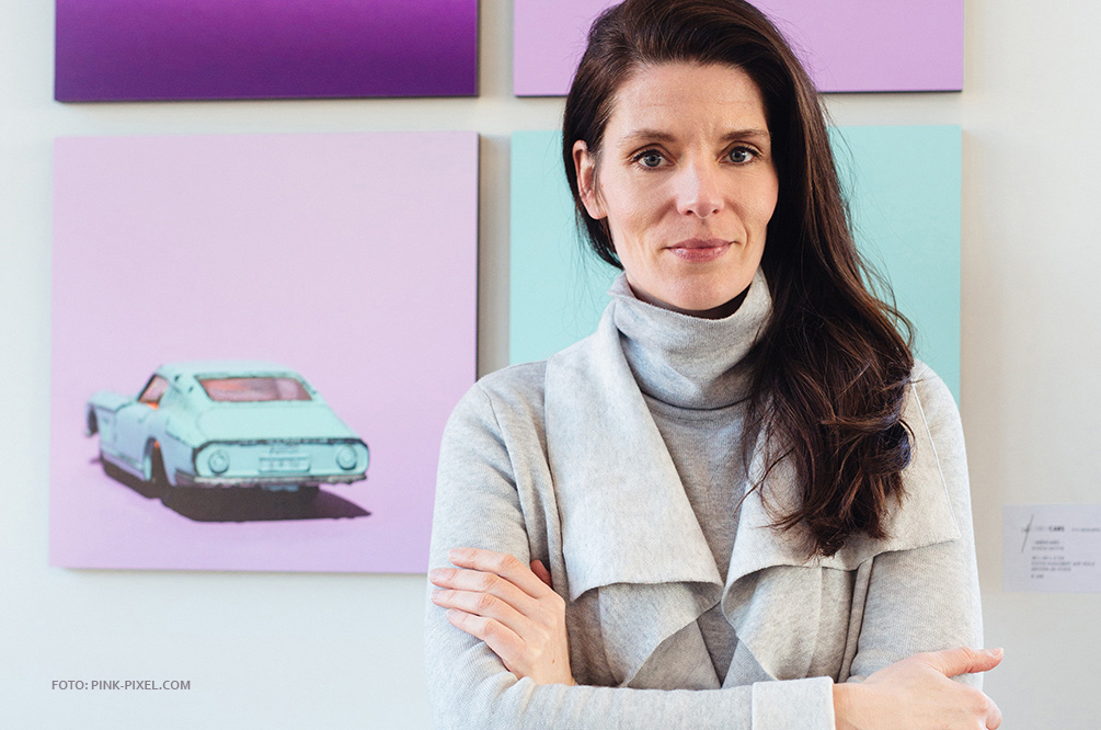 Eva Gieselberg Künstlerin Artist Candy Cars