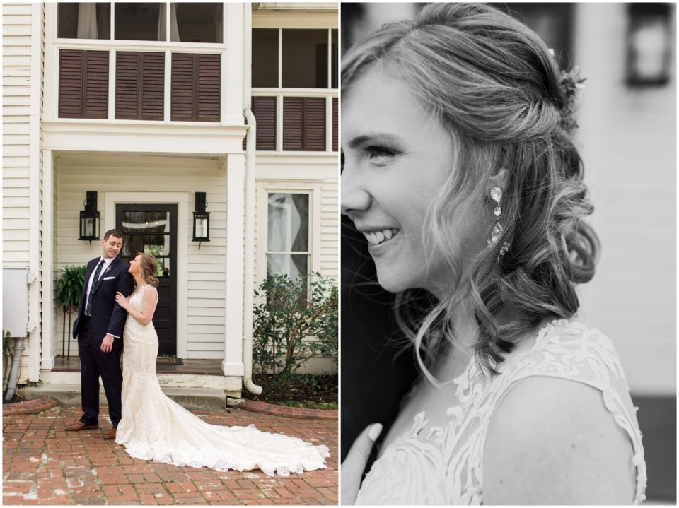 Wheeler House Photographer Bride Groom