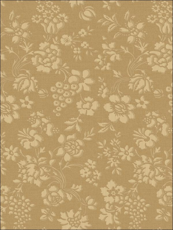 Stria Floral Toss | Evans & Brown for Brewster Home Fashions