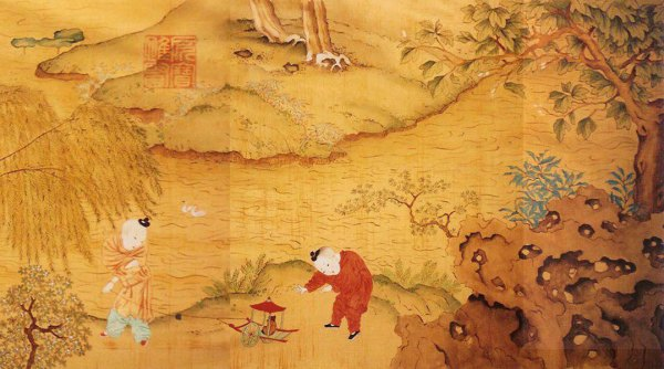 Mural for P.F Chang's (detail)