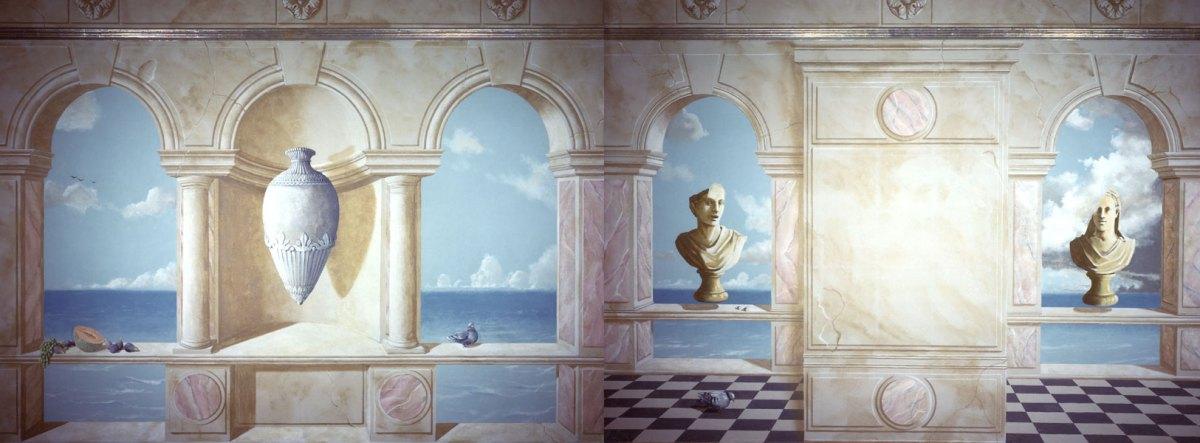 Artists' guest room | Evans & Brown