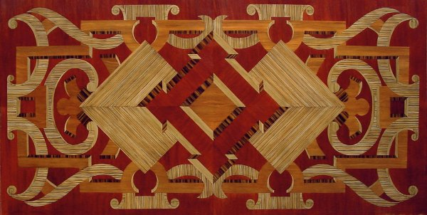 Marquetry for the Wynn