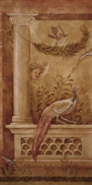 Detail, mural