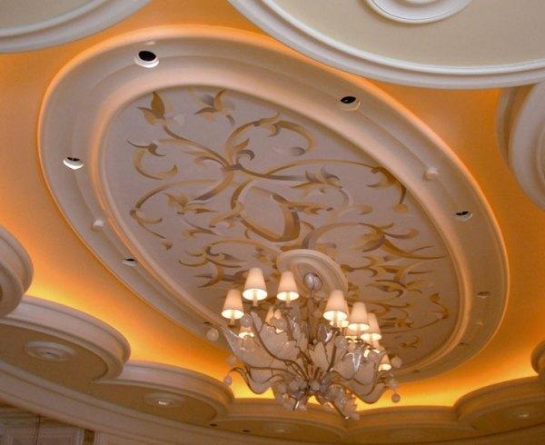 Wynn Las Vegas ceiling with  pearl inlays