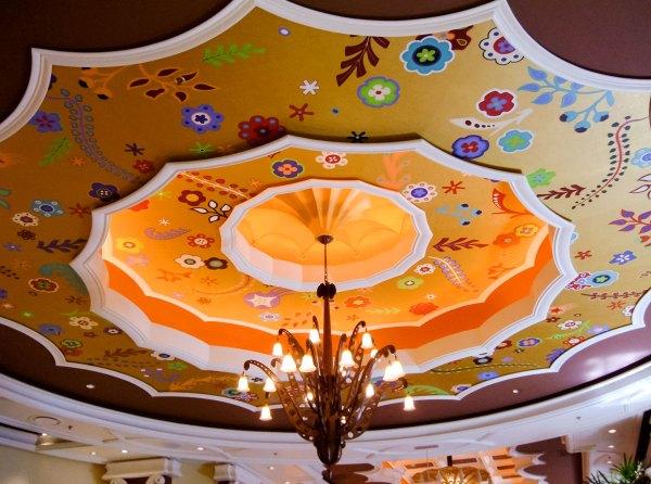 A Wynn Las Vegas ceiling