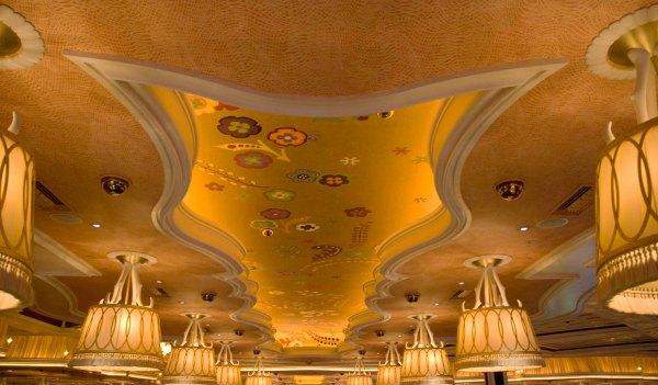 Ceilings at Wynn Las Vegas