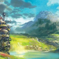 Beautiful Howl's Moving Castle Art