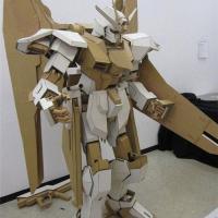 Awesome Cardboard Gundam